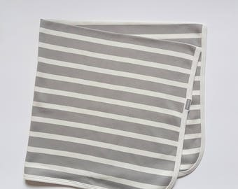 Blossom Baby 100% organic cotton jersey baby blanket