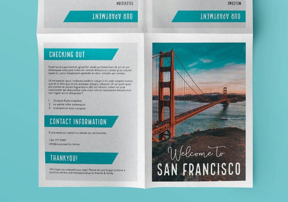 information booklet designs