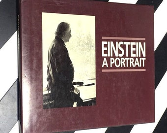 Einstein: A Portrait With an introduction by Mark Winokur (1984) hardcover book