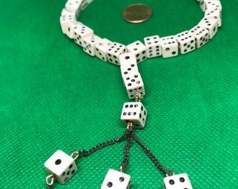 Unusual Dice Necklace/Bracelet