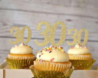 30th Birthday Cupcake Toppers. 30 Cupcake Toppers. 30th Birthday Party Decorations. 30th. Thirty. Dirty 30. Flirty 30. 30th Birthday Ideas.