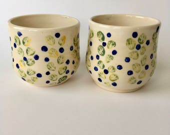 Blueberry Bush - Cups Set