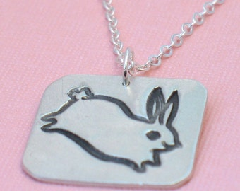 Bunny hopping ...... BOYGIRLPARTY artist series .......  limited edition