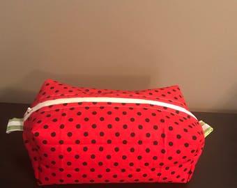 Watermelon box zipper pouch