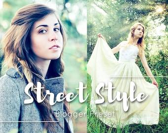 Street Style Lightroom Preset / Moody Blogging Filters / Instagram Portrait / Travel Food Film / Wedding  Family  Children Newborn Kids Cool