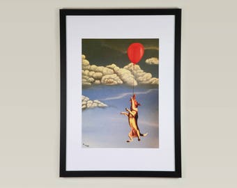 Tenacity - Giclee A3 Print - Unframed - Signed - Limited  Edition of 250 - Introductory Price for limited time