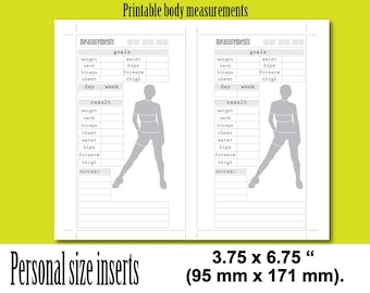 Body measurements | Etsy