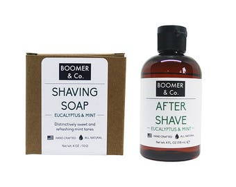 Eucalyptus & Mint Shaving Kit