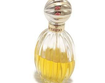 Vintage Valentino Perfume Eau De Toilette Splash- Bottle 1/2 Full- 1.65 fl oz Bottle- Vintage Perfume- Made France- Vintage French Perfume
