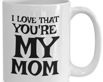 Mom mug – cute and witty mothers day birthday anniversary gift – for the #1, most awesome, best in the world mommy
