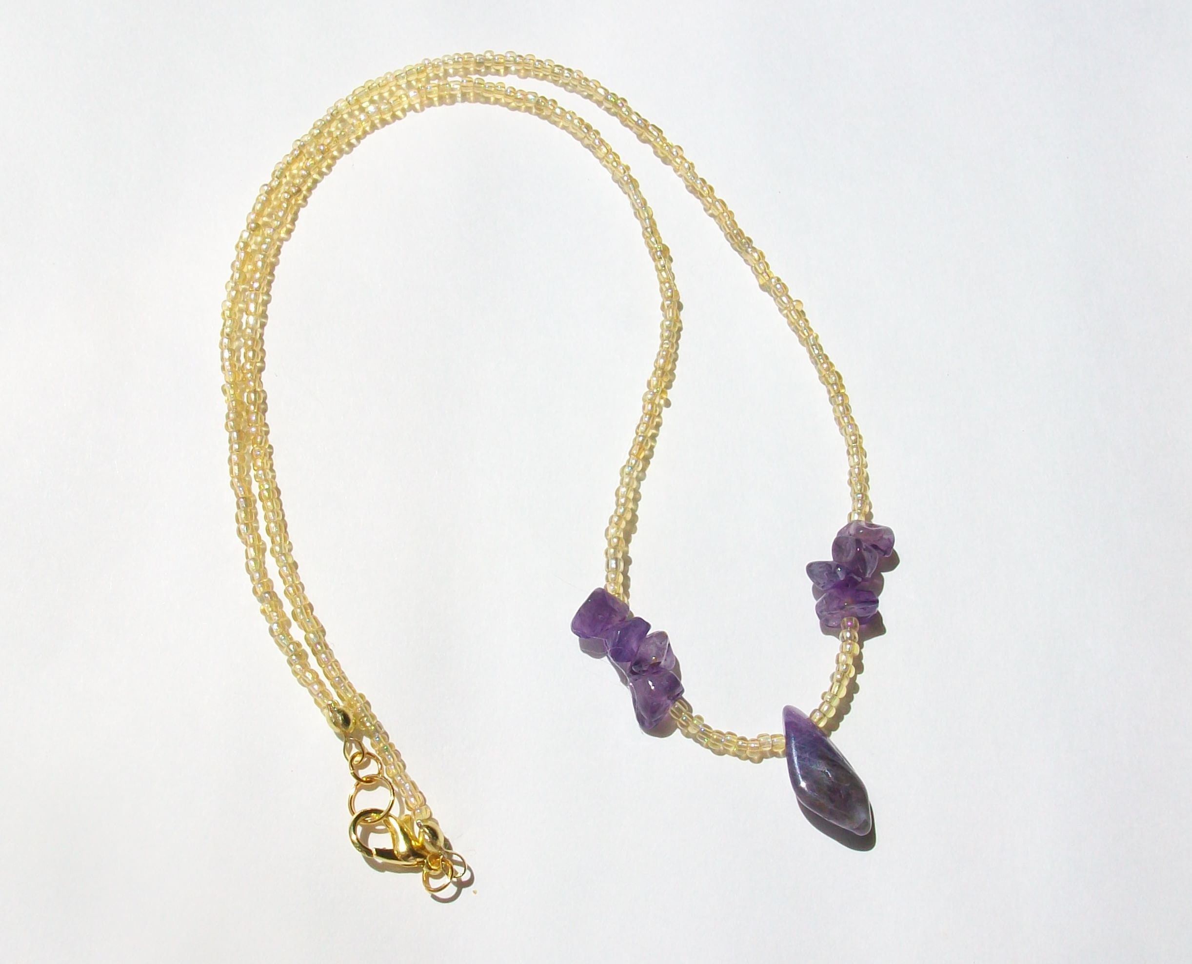 stone february chakra rough crown necklace fullxfull raw products amethyst birthstone il