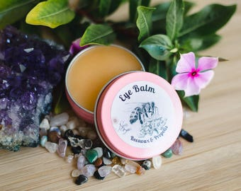 Eye Balm with Beeswax, Propolis and Rosehip /gift under 20/all natural ingredients
