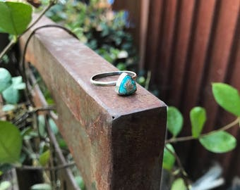 Turquoise Triangle Stacker