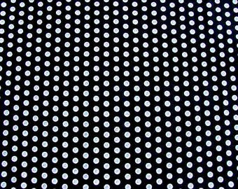 "Thimble Pleasures - Dan Morris Design - Quilting Treasures J24064 - Black with Ecru Buttons - 100% Cotton - 44"" Wide - Quilting Fabric"