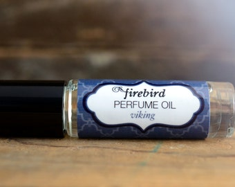 Viking Perfume Oil, Icy Sea Water, Green Birch