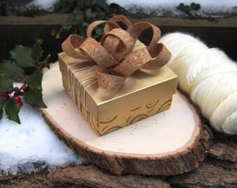 Big Ol' Gift Bow - Cork