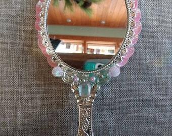 Pink Mermaid Mirror