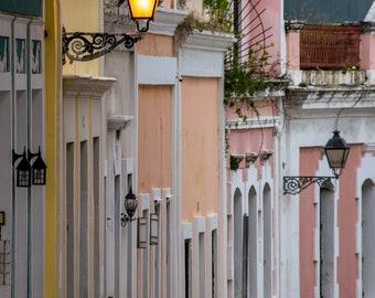 Old San Juan Houses photo prints