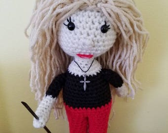 Crochet Buffy the Vampire doll