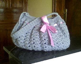PDF Crochet Pattern Chic Hobo Bag