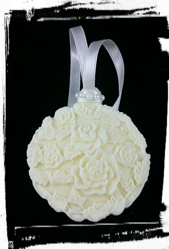 100% Australian Hand Made Soy Wax Space Fresheners Gypsum Flower