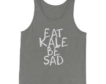 Eat Kale, Be Sad Jersey Tank Top for Men