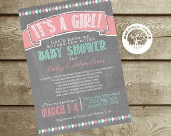Baby boy shower invitation red plaid boy baby shower themes long distance baby shower girl shower invite military baby shower shower by mail invite filmwisefo Image collections