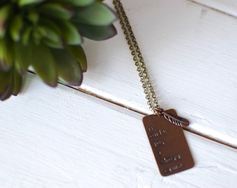 If Only For A Short Time necklace