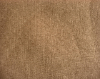 Sisal Brown burlap fabric