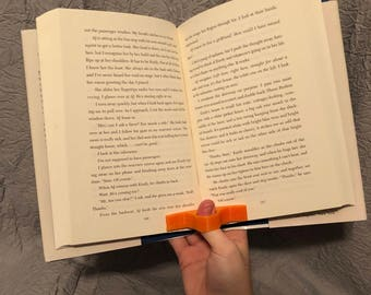 One Handed Book Holder