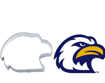 Eagle Head Cookie Cutter, Patriotic, Elections, 4th of July , Hawk head cookie cutter, falcon cookie cutter Made In USA
