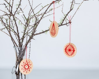 Customizable Christmas ornaments / Christmas ball / do-it-yourself / DIY