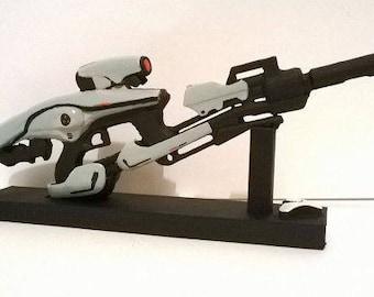 Customized Replica inspired in Mythoclast  , 3D printed gun 19 cm (7.48 in.)