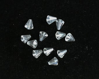 5400 Swarovski® 8mm x 7mm Drop - Crystal - 20 pieces