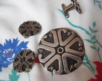 la cucaracha taxco mexico sterling brooch