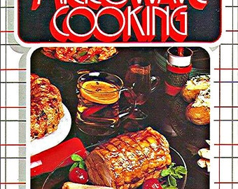 1984 Microwave Cookbook by Kenmore - MINT Condition Like New Retro Sears Culinary Guide Great for Gift with Easy Weeknight Favorite Recipes