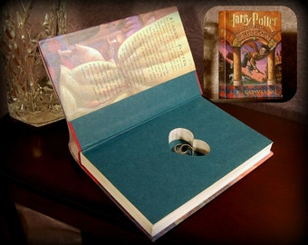 Hollow Book Safe with Heart - Harry Potter and The Sorcerer's Stone - Secret Book Safe