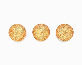Gold Glitter Magnets, Magnets, Pretty Magnets, Small Magnets, White Board, Vision Board, Office Magnets, Cute Magnets, Cute Fridge Magnets