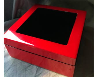 HP Designs Wood Lacquer Display Box