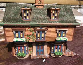 Department Dept 56, Literary Classics The March Residence little women house