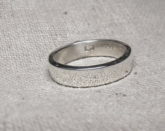 3mm Flat Sterling Silver Band RF417