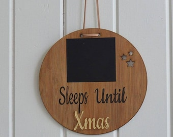 Countdown to xmas sign / christmas countdown