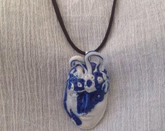 Face Art Jewellery handmade-Jewellery-Fashion Jewellery- Unique Jewellery-Polymere Clay Face.