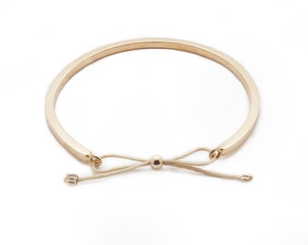 2.5MM Gold Town Square Bracelet - 14K Yellow Gold