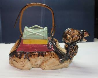 Vintage TASHIRO Japan Decorative CAMEL TEAPOT