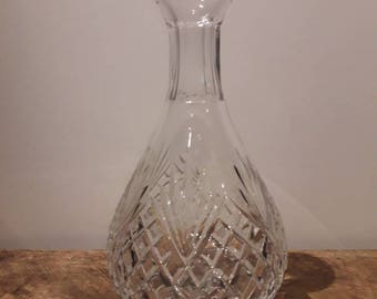 Antique Tyrone Crystal Decanter/ Vase