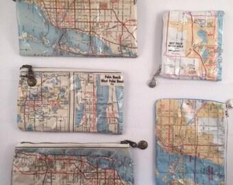Mapsacks Assorted Mini Florida Pouches