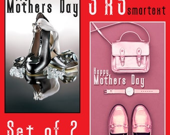 Happy Mothers Day, Smartext 300dpi. Digital Image.