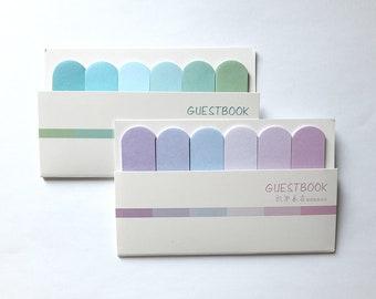 Pastel Color Sticky Note, Sticky Memo, Index Marker