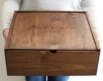 Baby keepsake box etsy large keepsake box wooden box card box personalized gift baby keepsake box negle Gallery